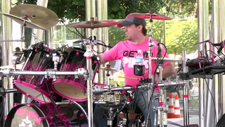 Drumming for a Cure at Klyde Warren Park