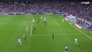Real Madrid vence al Eibar cómodamente por la liga española