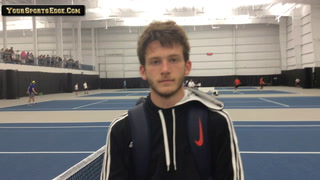 Newcomb Maddux on State Tennis Match and Career
