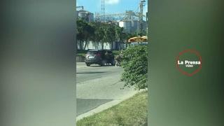 Fuerte enfrentamiento entre Agentes de la FNA y pandilleros en Chamelecón