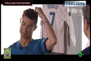 Cristiano Ronaldo y sus gestos al hablar de una posible llegada de Neymar al Real Madrid