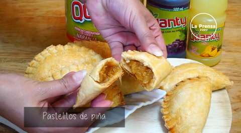 Cocinando con Mayte: Pastelitos de piña