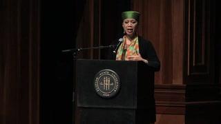 Ambassador Attallah Shabazz inspires students