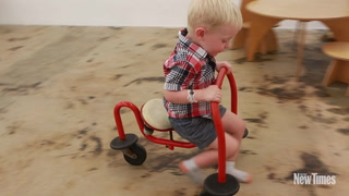 Miami Kids Explore Gallery Diet's Kindermodern Exhibit