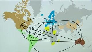 Trazan la ruta geopolítica del virus del sida