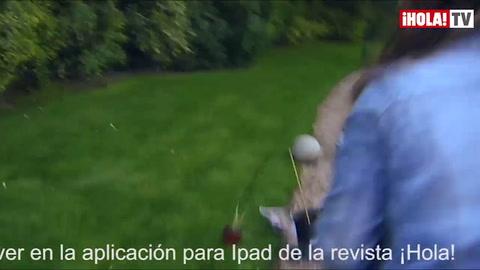 El vídeo de la sesión de fotos de Cayetano Rivera y Eva González parapresentar su fundación \'Yo Niño\'