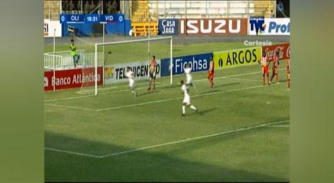 Gol de Michael Chirinos al Vida (Liga Nacional 2018)