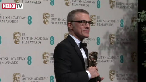 Christoph Waltz on his surprise BAFTA win