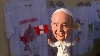 Visita: El papa en una región de Perú enferma por el oro