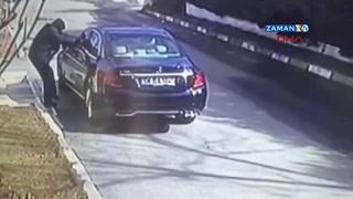 Ankara'da işadamının öldürüldüğü silahlı saldırı güvenlik kamerasında