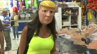 Máscara de Trump, nueva favorita para carnaval brasileño