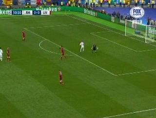 ¡REGALÓN! Arquero del Liverpool comete el error de su vida en la final ante el Real Madrid