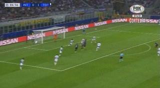 Icardi con un golazo empata 1 - 1 del Inter ante el Tottenham