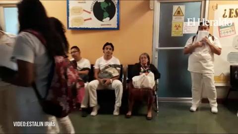 Paro de labores en el hospital psiquiátricos Mario Mendoza