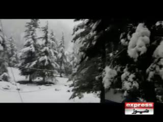 ملک کے بالائی علاقوں میں بارش، پہاڑوں پر برفباری جاری