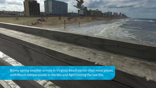 Virginia Beach: Where spring arrives early
