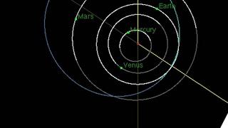 La NASA publica video con la trayectoria del asteroide que se acerca a Tierra