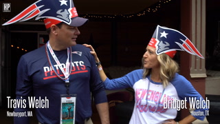 Super Bowl Fans Ride METRO To NRG Stadium