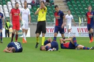 ¡Tres caídos! Las lesiones más extrañas nunca antes vista en el fútbol
