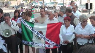 A 25 años, recuerdan a víctimas del 22 de abril