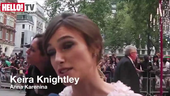 \'Anna Karenina\' star Keira on \'very supportive\' Jude