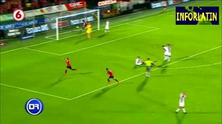 Así fue el gol de Roger Rojas al Saprisa en Costa Rica