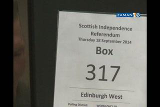 İskoçlar, bağımsızlığa 'hayır' dedi