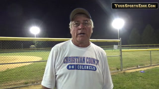 Blane on End of Lady Colonels Season