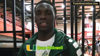 Hollowell on Grabbing District Win