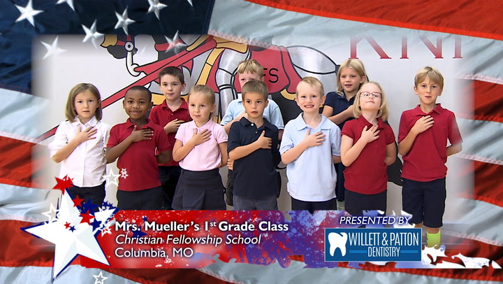 Christian Fellowship School - Mrs. Mueller's 1st Grade