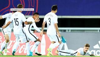 Honduras cae 1-0 ante Nueva Zelanda con golazo de Bevan