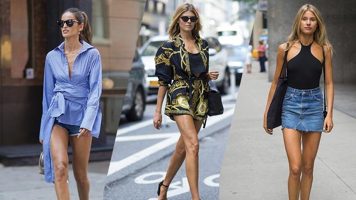 \'Minishorts\', vestidos y faldas cortas: los 10 mejores looks de la semana