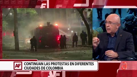 Continúan las protestas en diferentes ciudades de Colombia