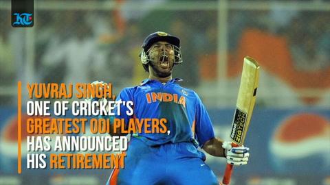 Indian cricketer Yuvraj Singh announces retirement