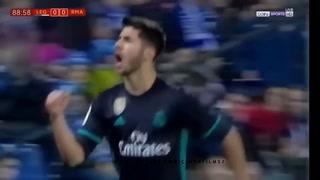 El golazo de Marco Asensio en la Copa del Rey de España