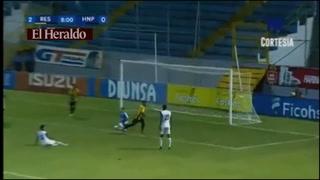 Mario Martínez pone el 2-0 frente a Honduras Progreso