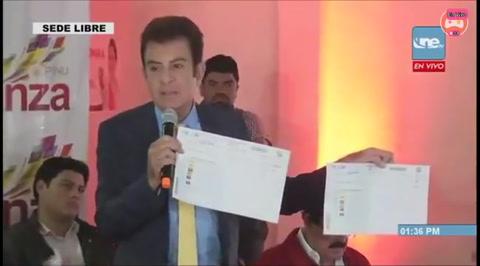 Alianza Opositora brinda pruebas de fraude por parte del TSE