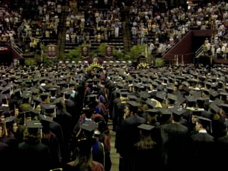FSU 2010 summer commencement ceremony