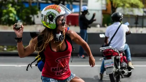 Los íconos de las protestas opositoras en Venezuela