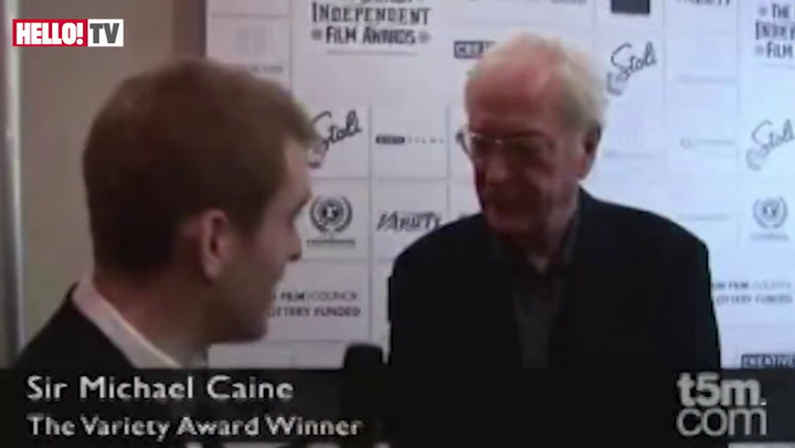 Sir Michael Caine honoured with lifetime achievement gong at BIFAs