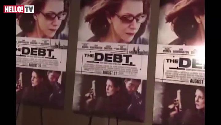 Helen Mirren premieres her thriller \'The Debt\' in New York