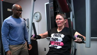Cancer survivors reap benefits of resistance training
