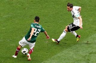 El golazo de Hirving Lozano ante Alemania visto desde las graderías en Rusia 2018