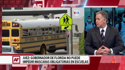 Juez permite a las escuelas de Florida que obliguen a los estudiantes a usar mascarilla