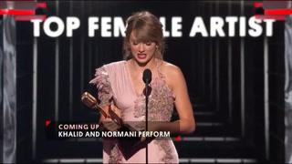 Taylor Swift gana en la categoría