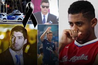 Choco Lozano y estrellas del fútbol consternados por atentado terrorista en Barcelona