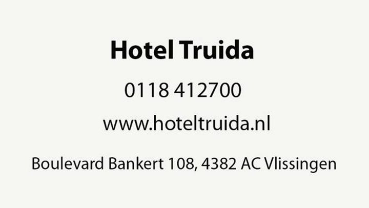 Hotel Truida - Bedrijfsvideo