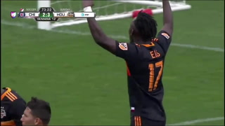 Alberth Elis anota golazo en victoria del Houston Dynamo