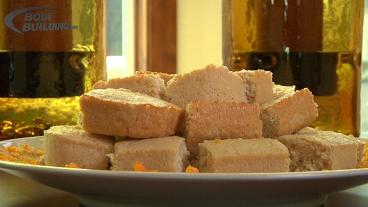 Jamie Eason's Lemon Protein Bars