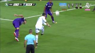El golazo de CR7 ante la Fiorentina por el Trofeo Santiago Bernabéu